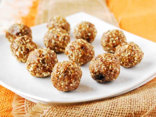 pumpkin protein balls