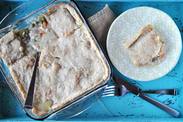Whole Wheat Chicken Pot Pie | 21 Homemade Healthy Chicken Recipes | Homemade Recipes