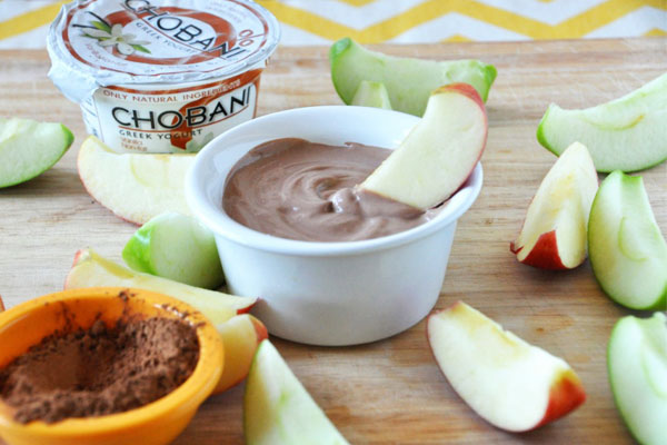 chocolate hazelnut chobani dip