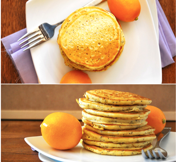 Meyer Lemon Poppy Seed Pancakes Are a Sweet Twist on Citrus |