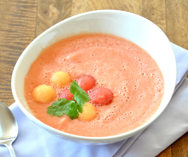 melon ball soup