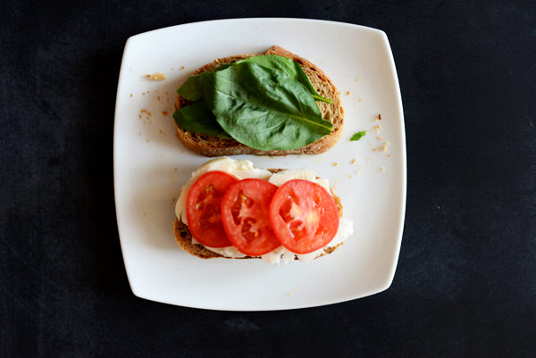 Caprese Grilled Cheese Sandwich Ingredients