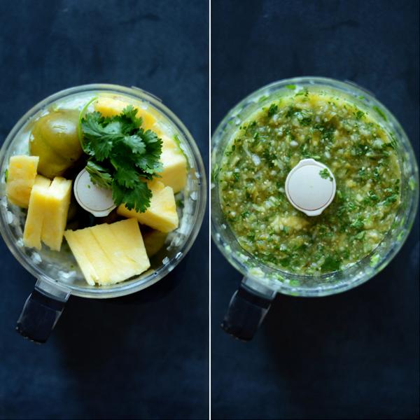 Pineapple Tomatillo Salsa