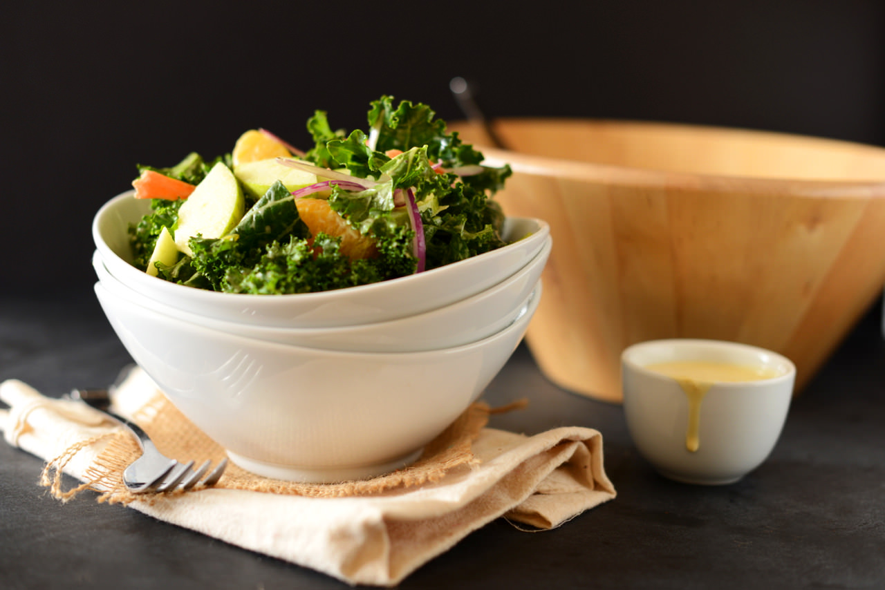Kale Salad for Fit Bottomed