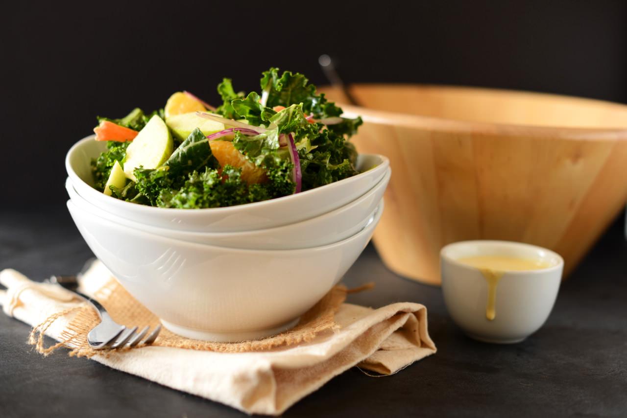 Kale Salad for Fit Bottomed