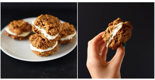 oatmeal cream pie sandwich