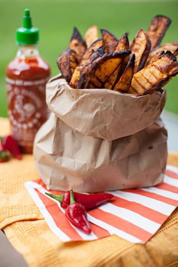 sriracha oven fries