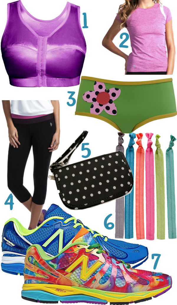 Summer fitness wear