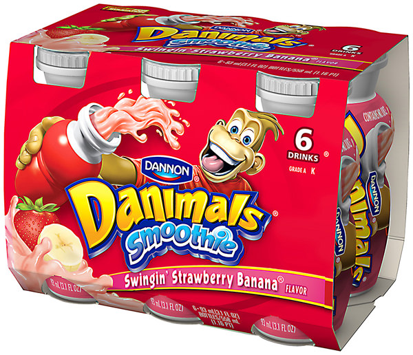 danimals less sugar