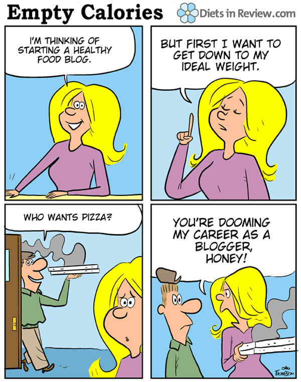 healthy bloggers comic