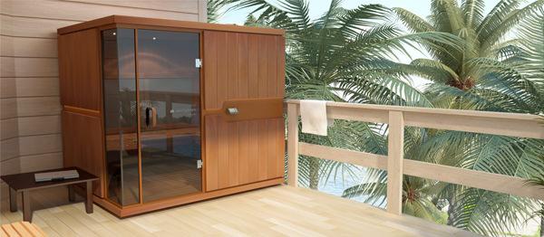 sunlighten sauna deck