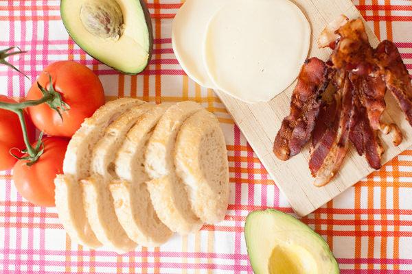 club sandwich ingredients