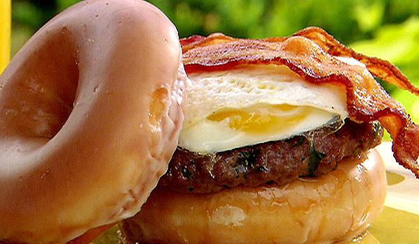 lady's brunch burger