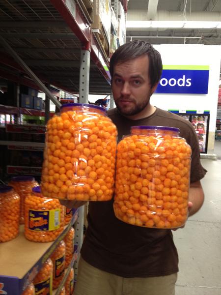sams cheeseballs