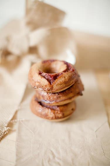 pbj quinoa donut