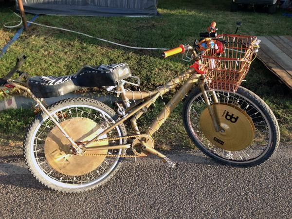 cymbal bike