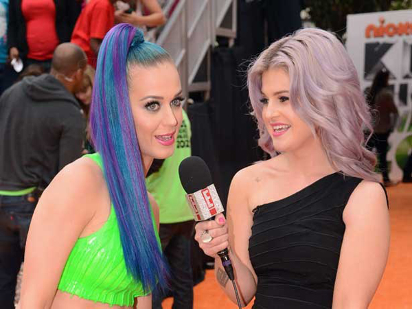 katy perry and kelly osbourne