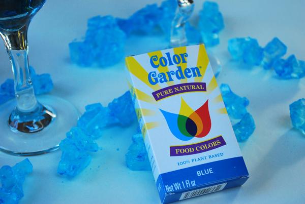 natural blue dye