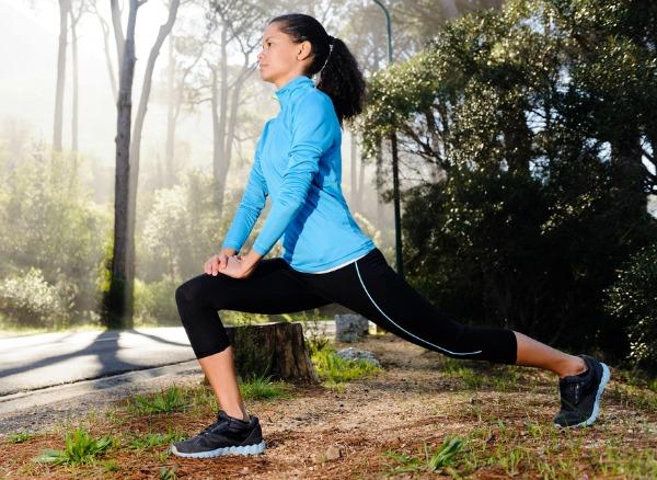 runner lunge