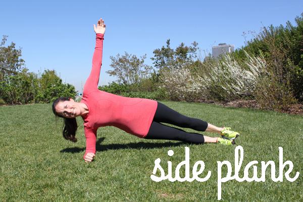 side plank hotbird
