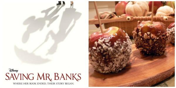 Saving Mr. Banks Caramel Apples