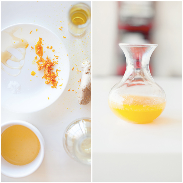 ginger orange vinaigrette