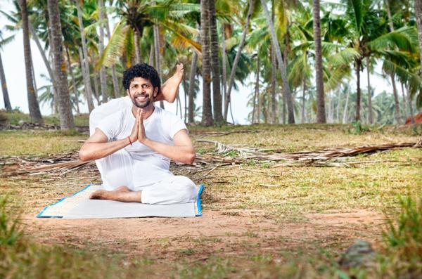 yoga indian man