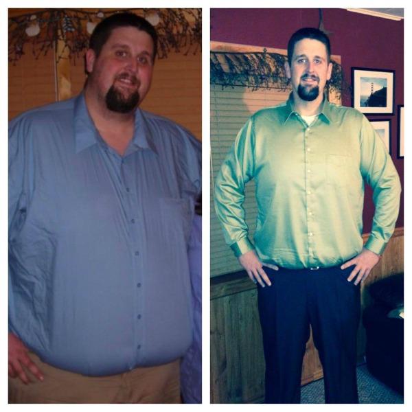 Josh Steele - Before and After