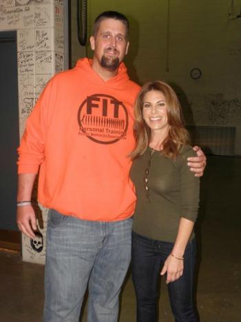 Josh Steele with Jillian
