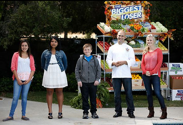 biggest loser kids and sam kass