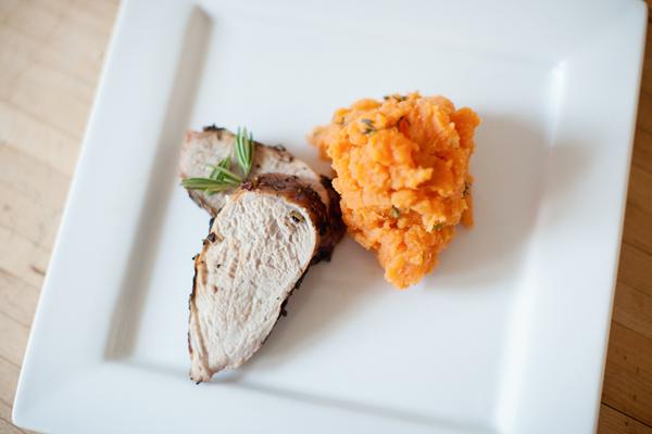 pork sweet potatoes