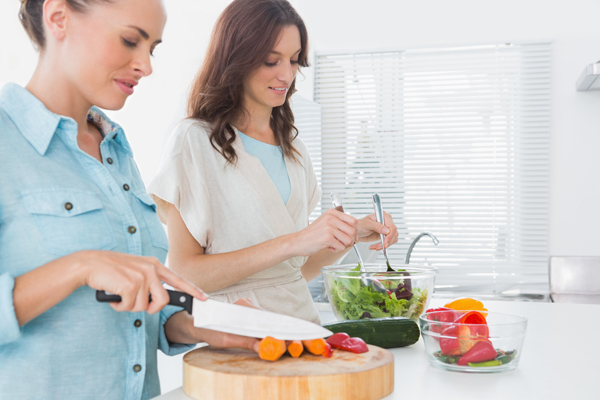 women salad