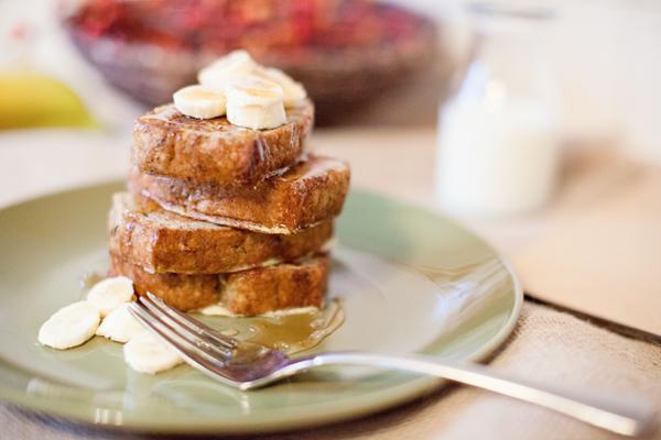 french toast banana bread