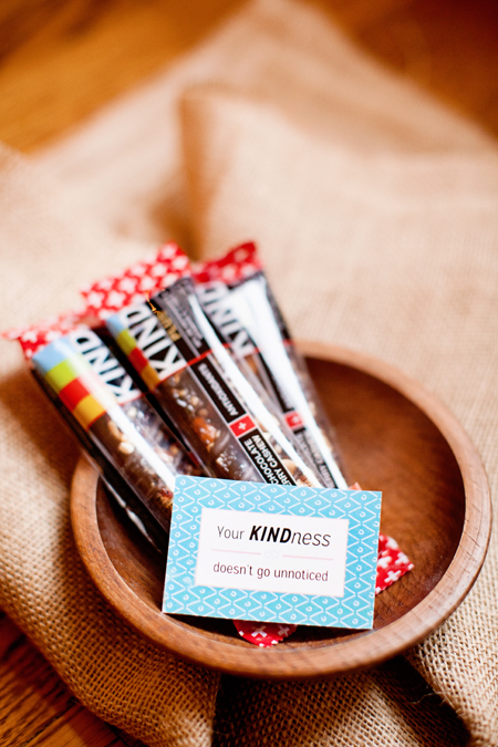 kind bar gift tag