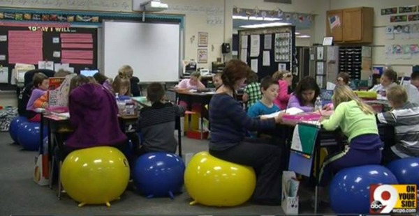 stability ball classroom