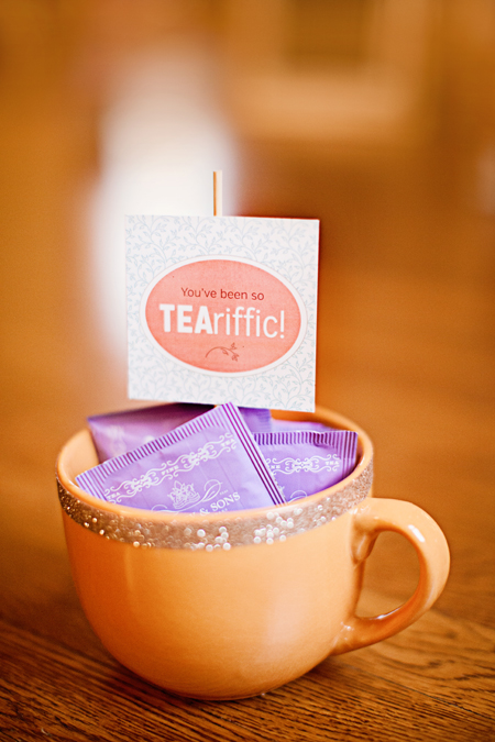 tea gift tag