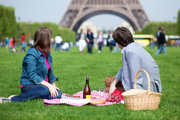 Eiffel tower food