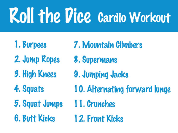roll the dice workout