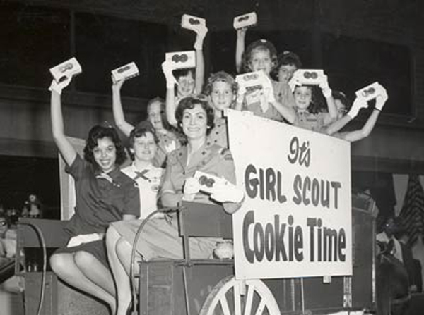 vintage girl scout cookies