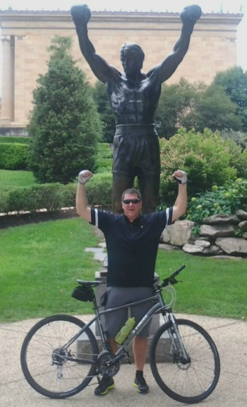 mark ryan with bike