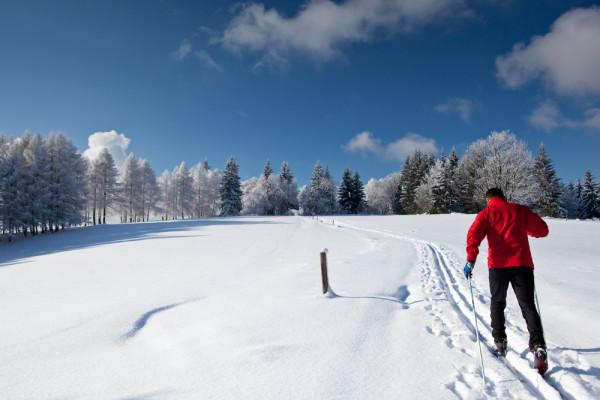 x-skiing