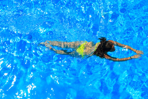 burn swim