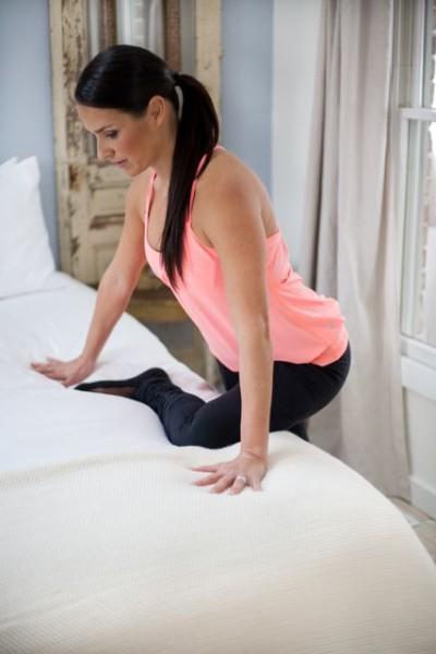 Figure Four Hip Stretch
