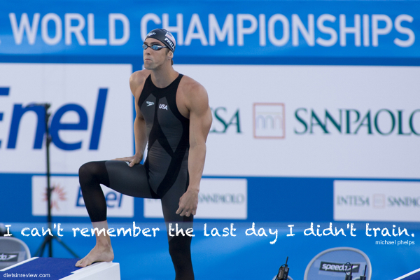 Phelps Training Quote