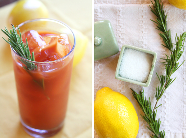 rosemary bloody mary