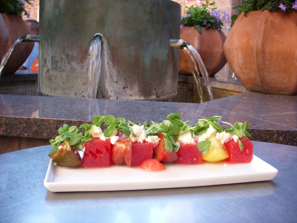 WatermelonSalad at Fountain