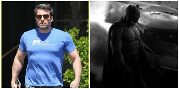 ben affleck batman collage