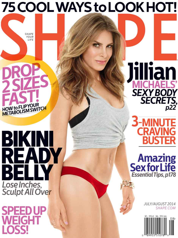 jillian michaels shape mag