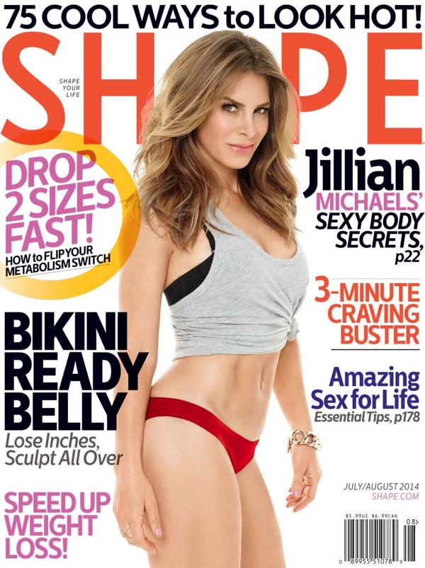 jillian michaels shape mag