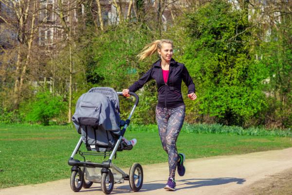stroller run